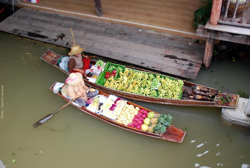 Floating Market (2) - Damoen Saduak - Thaïlande