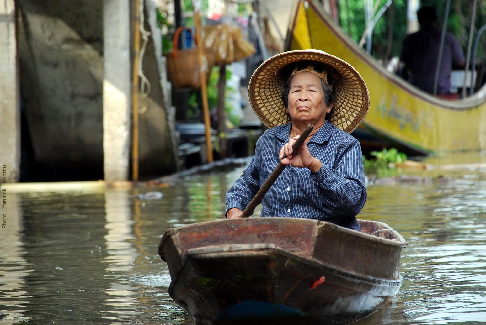 Floating Market - Damoen Saduak - Thaïlande