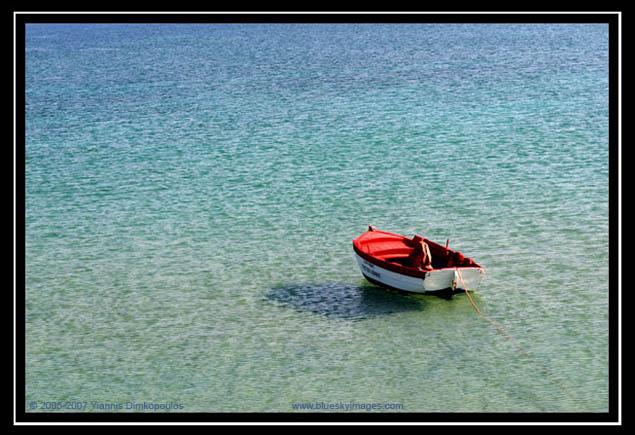 Floating on the Aegean Sea