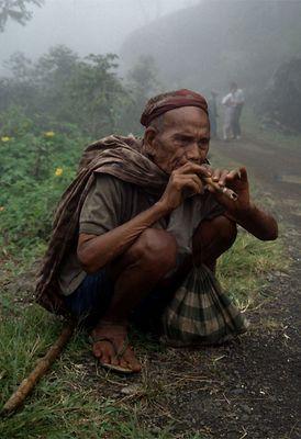 Flötenspieler auf Sulawesi