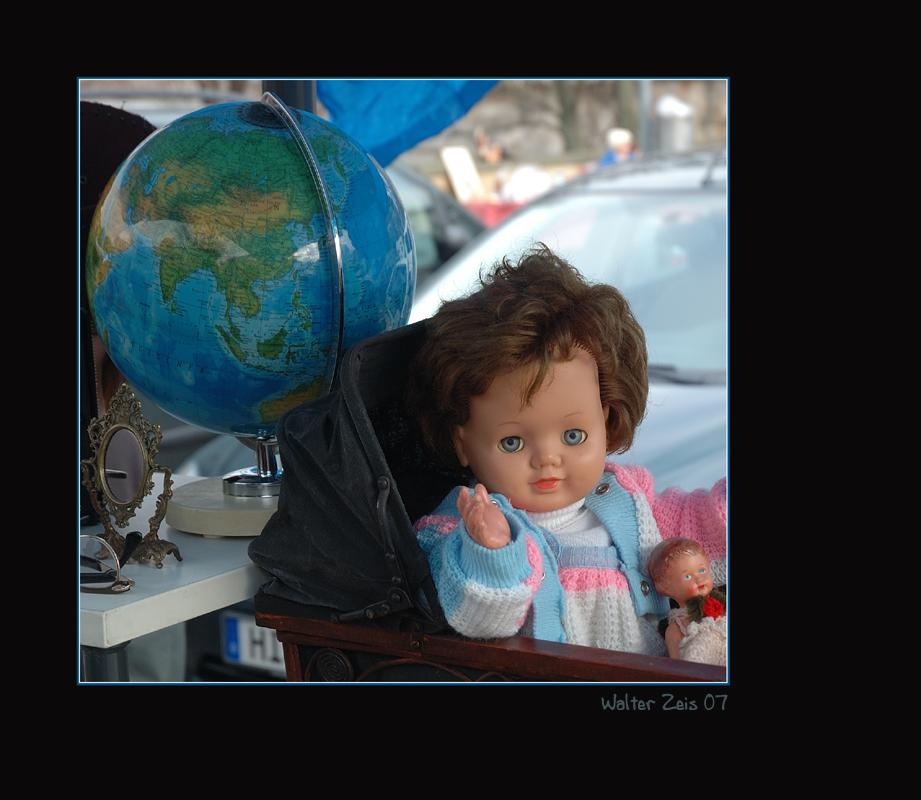 """Flohmarkt #31 - """"globalisiert"""""""