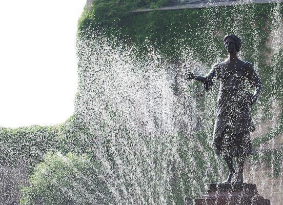 Flora duscht