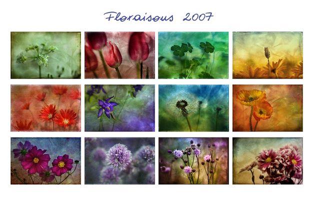 Floraisons - der Kalender