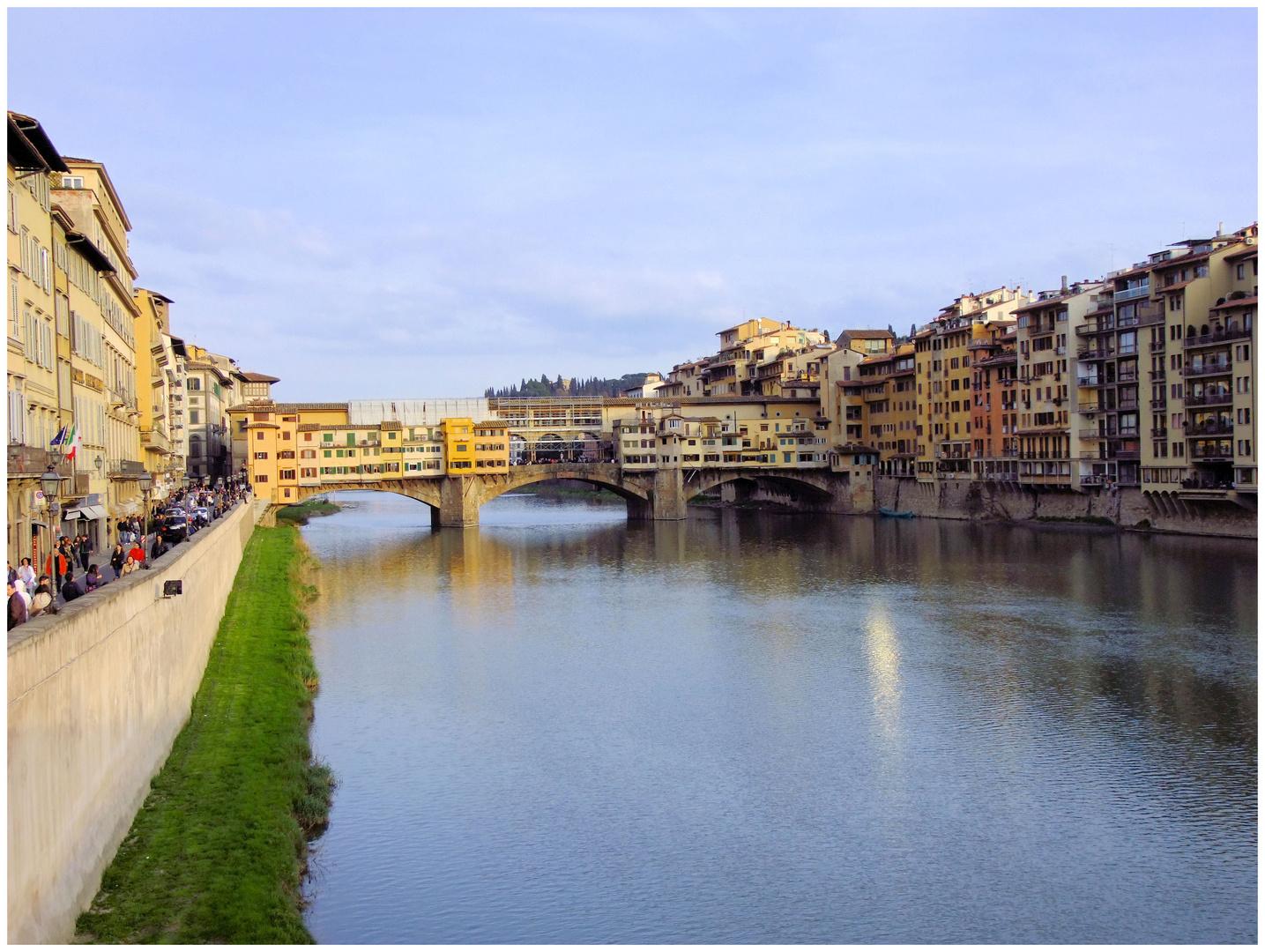 Florence. Le ponte vecchio