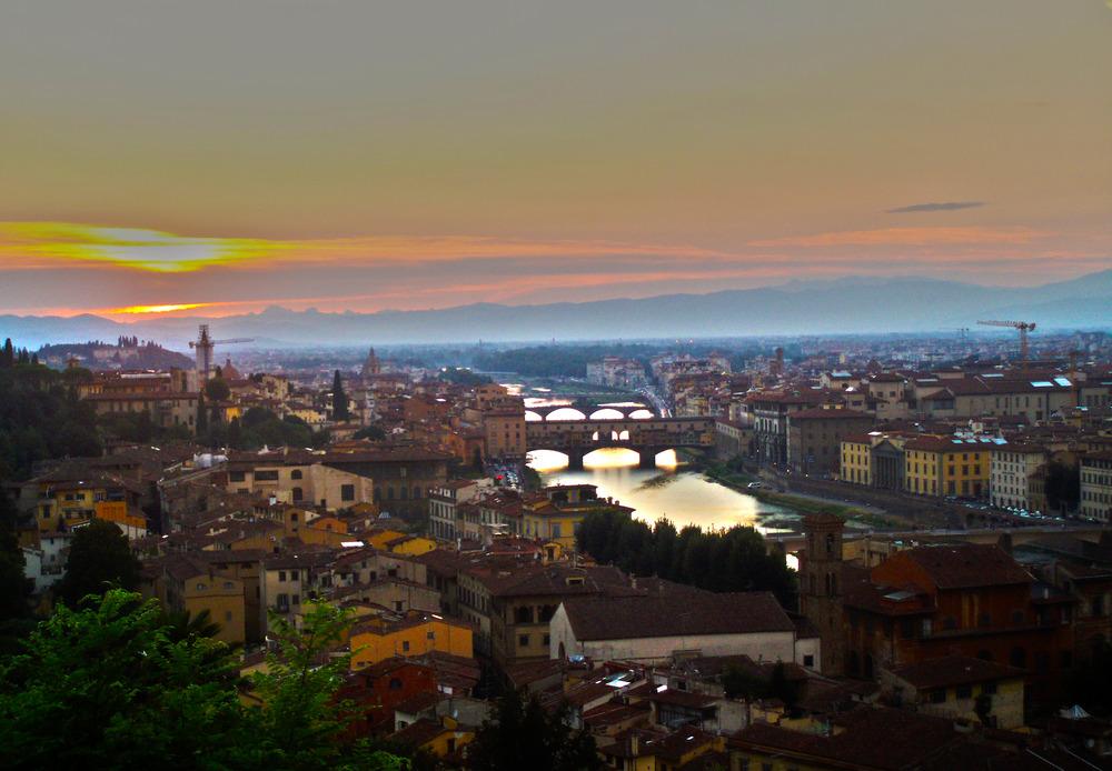 Florencia desde San Miniato al monte