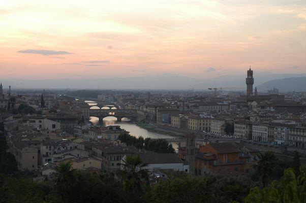 Florenz am Abend