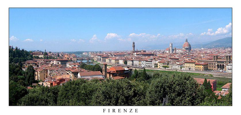 Florenz im August 2006