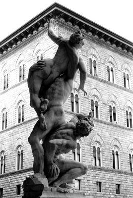Florenz: Raub der Sabinerinnen (1583) von Giambologna