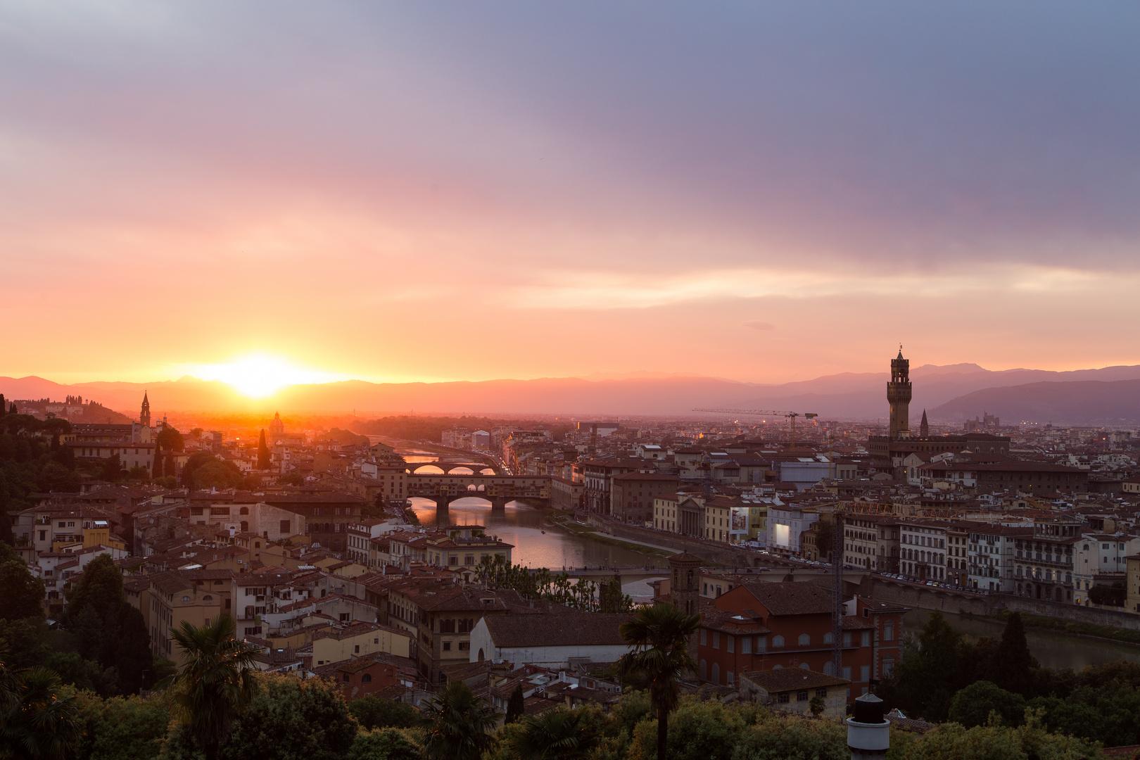 Florenz von der Piazzale Michelangelo