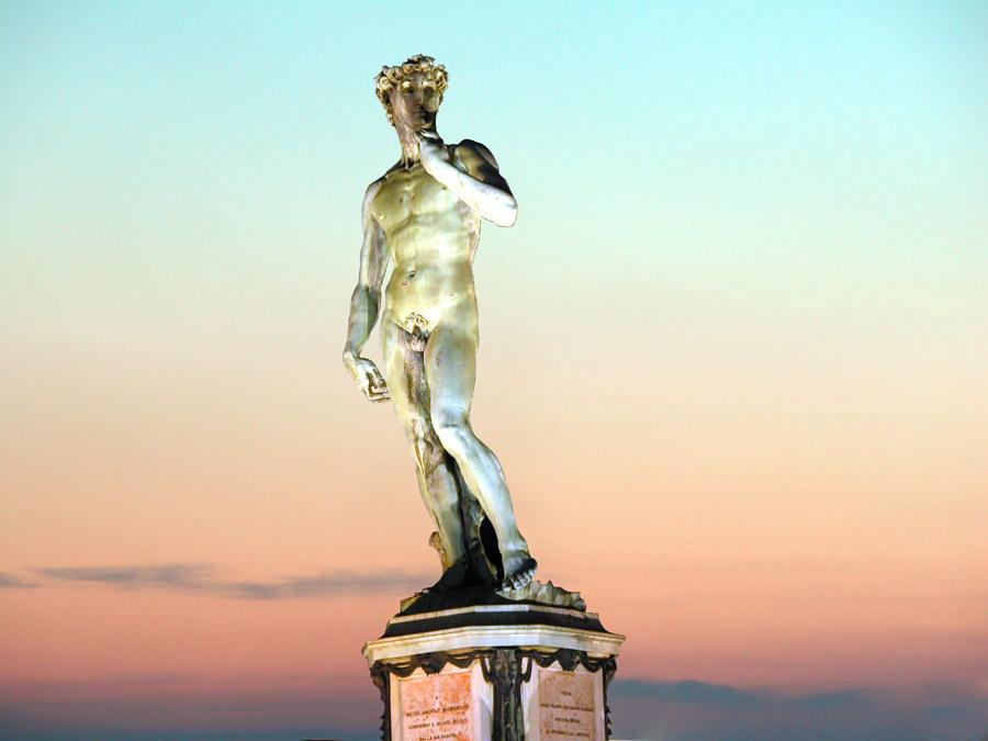 Florenz_David_Michelangelo