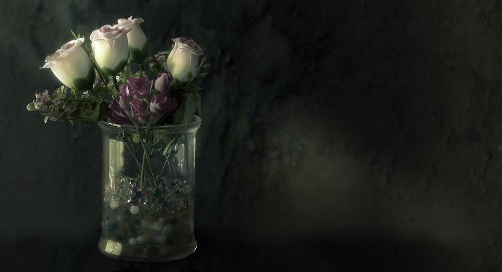 """Flores artificiales Amor verdadero"""