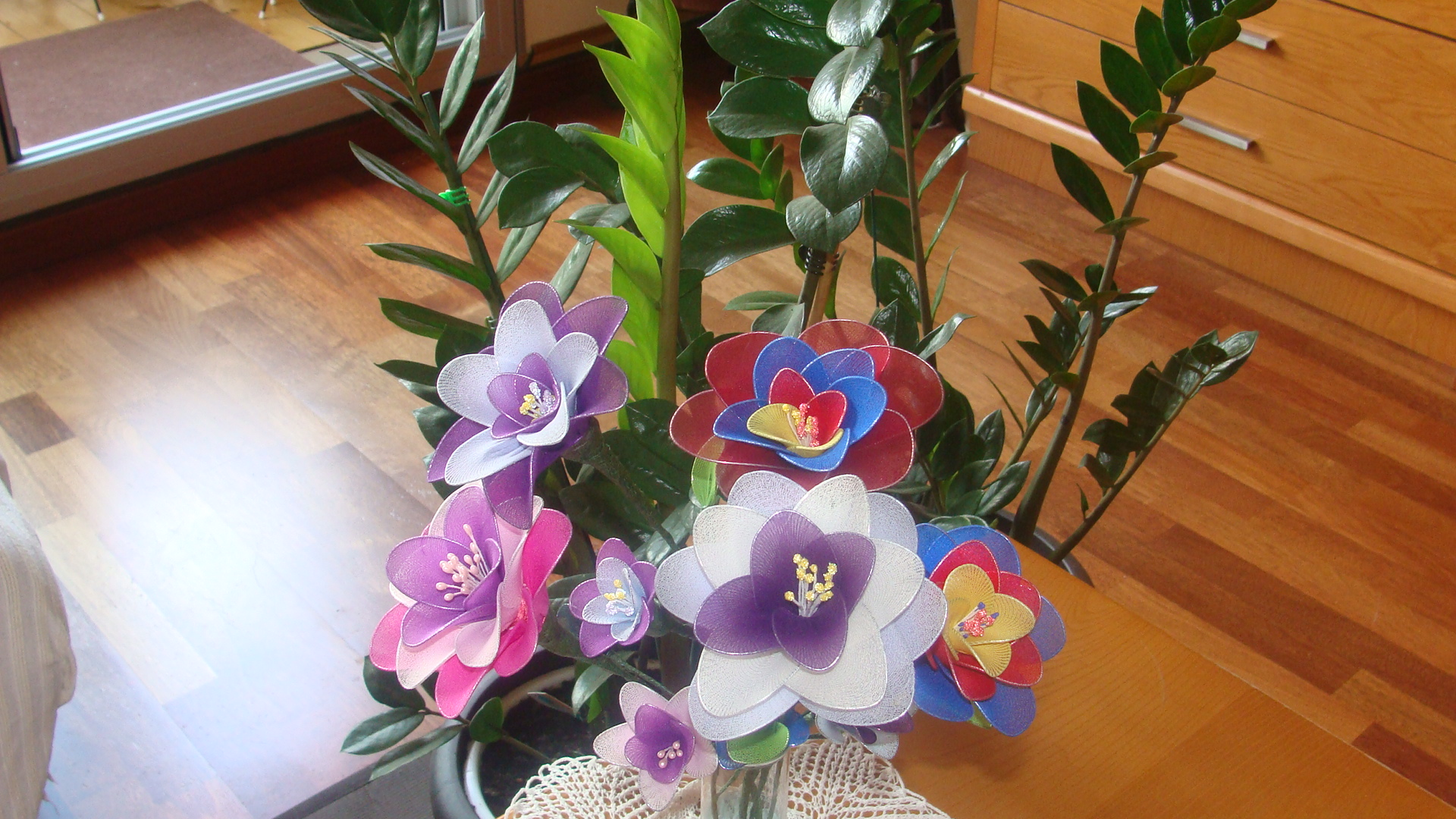 flores manuales