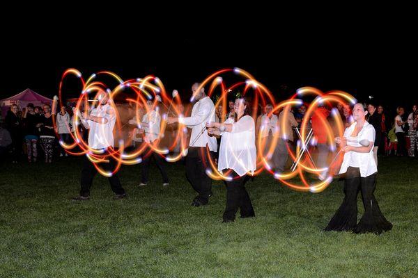 Flowers & Flames beim Grugaparkfest