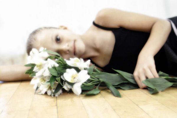 Flowers in the Dance Studio