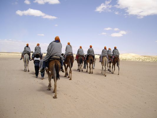 Flucht aus der Wüste