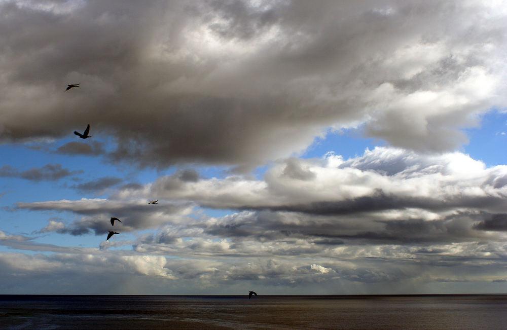 Flucht vor den Wolken