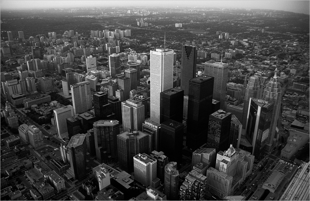 Fluchtpunkt Downtown Toronto