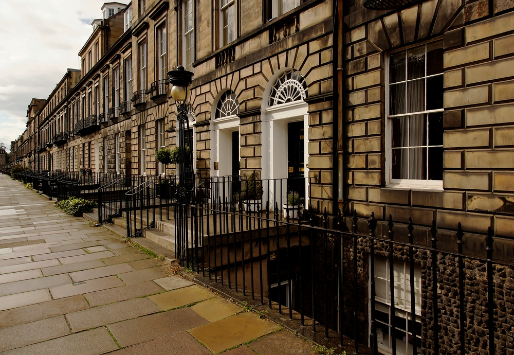 Fluchtpunkt Edinburgh