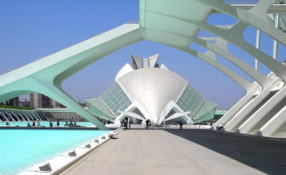 Fluchtweg in Valencias neuem Kulturzentrum