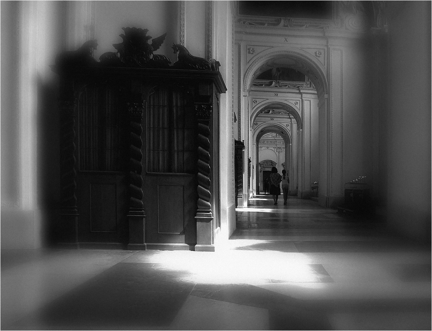 Flüchtige Erinnerung im Dom zu Salzburg