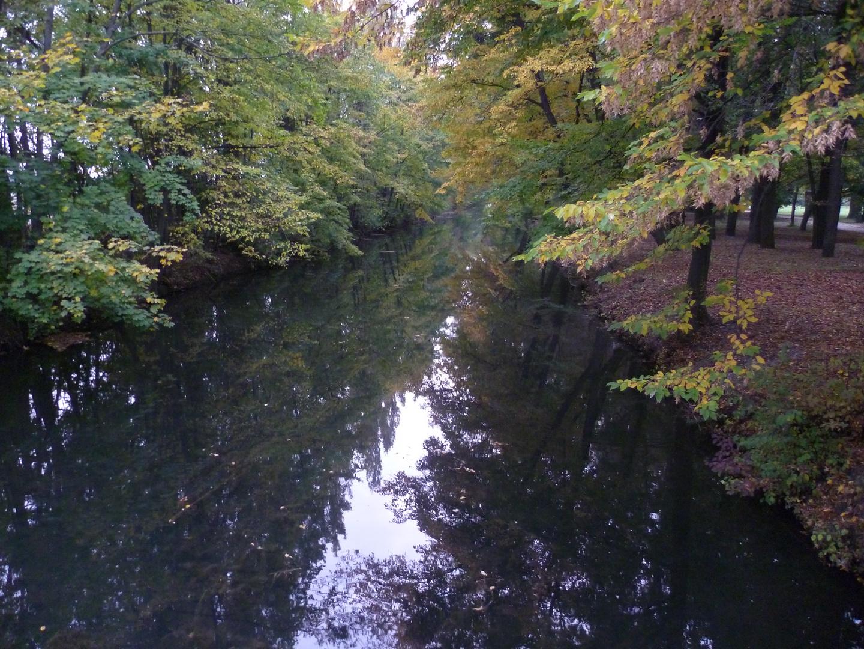 Flüsschen in Laxenburg bei Wien