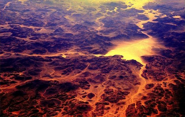 flüssiger sand