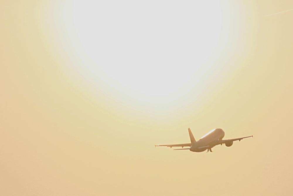 Flug in die Sonne :-)