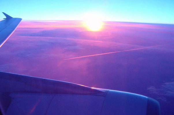 Flug nach Lanzarote.