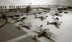 Flughafen Amsterdam in den 30gern
