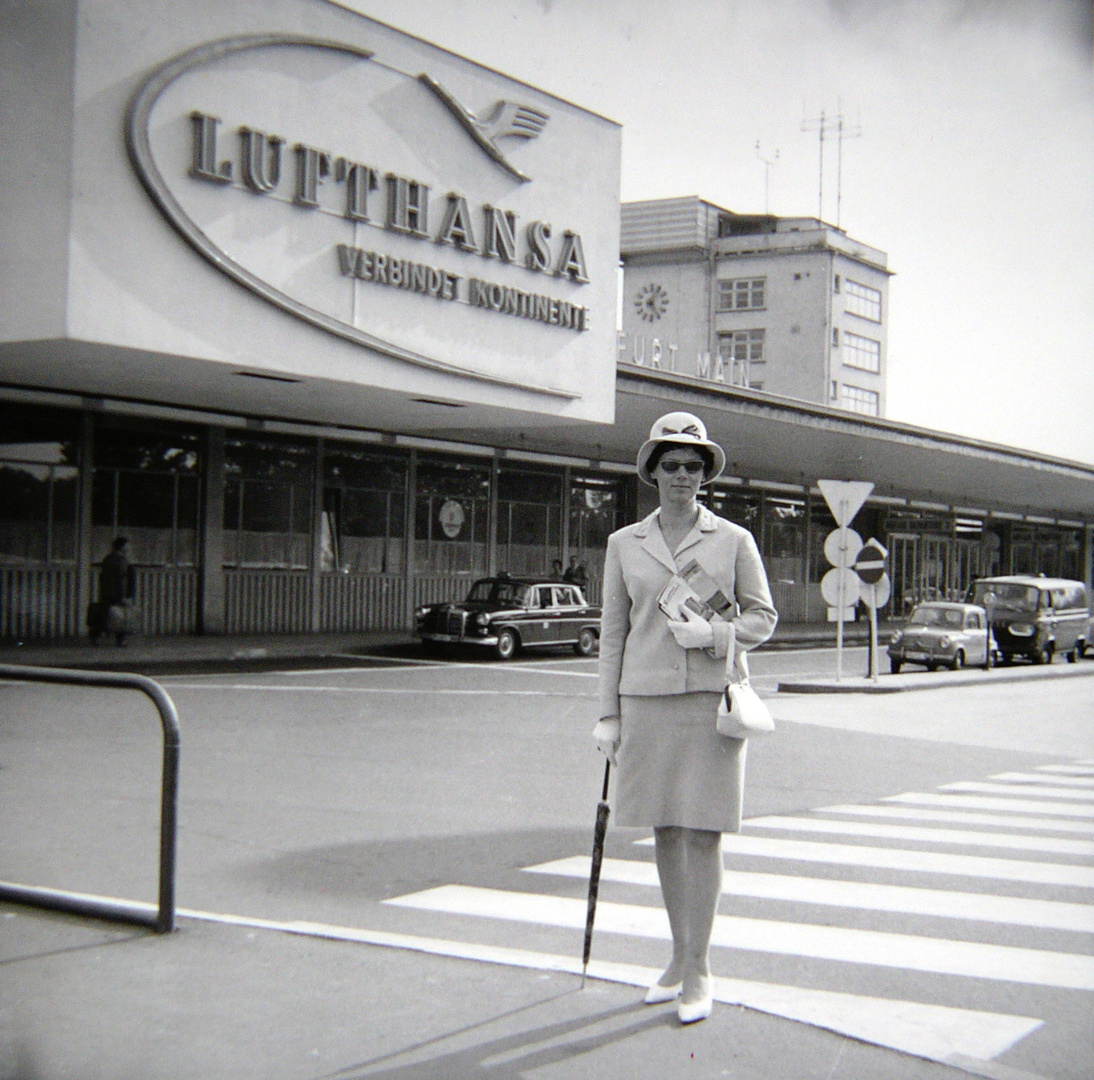 Flughafen Ffm - 1964