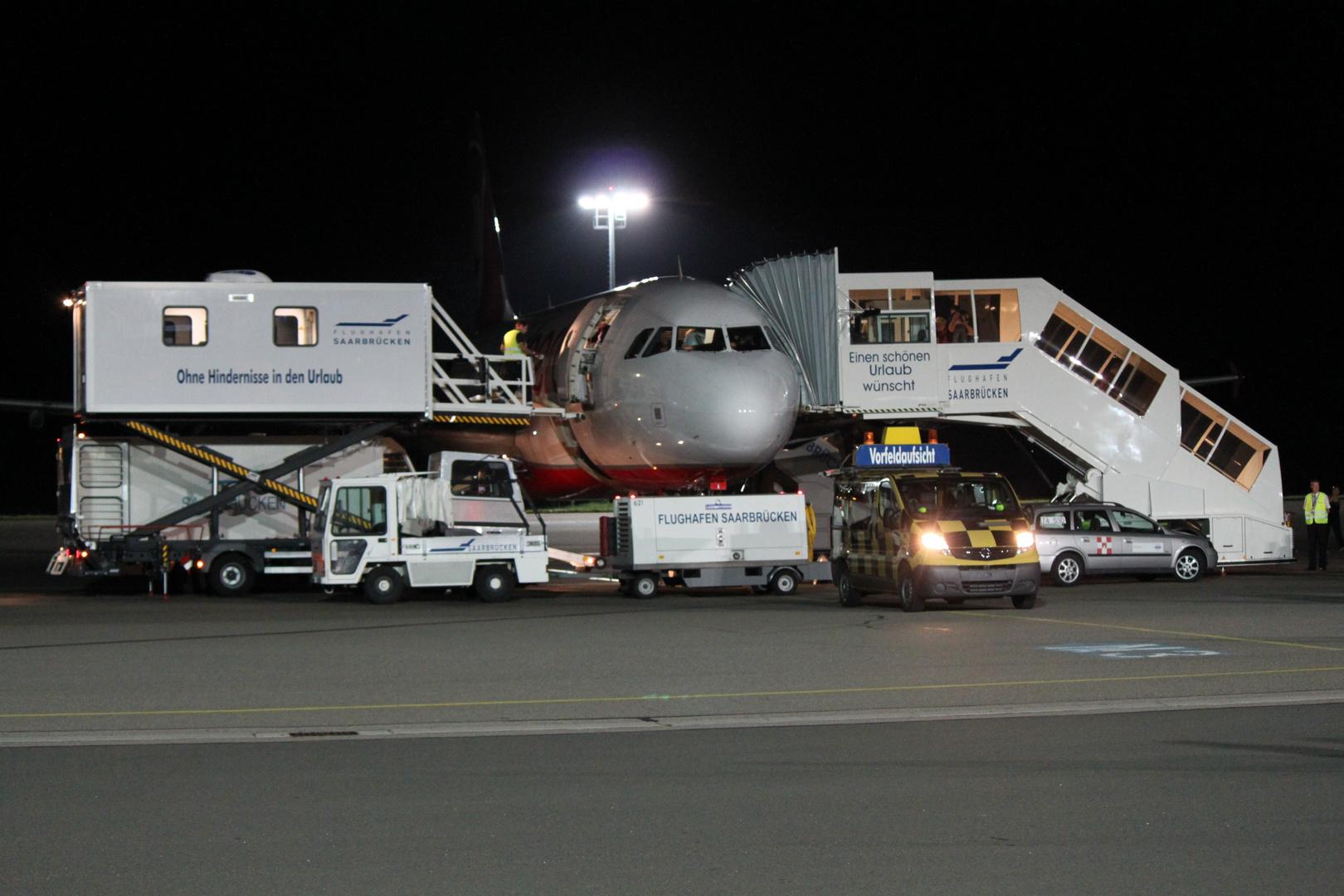 Flughafen Saarbrücken Ensheim