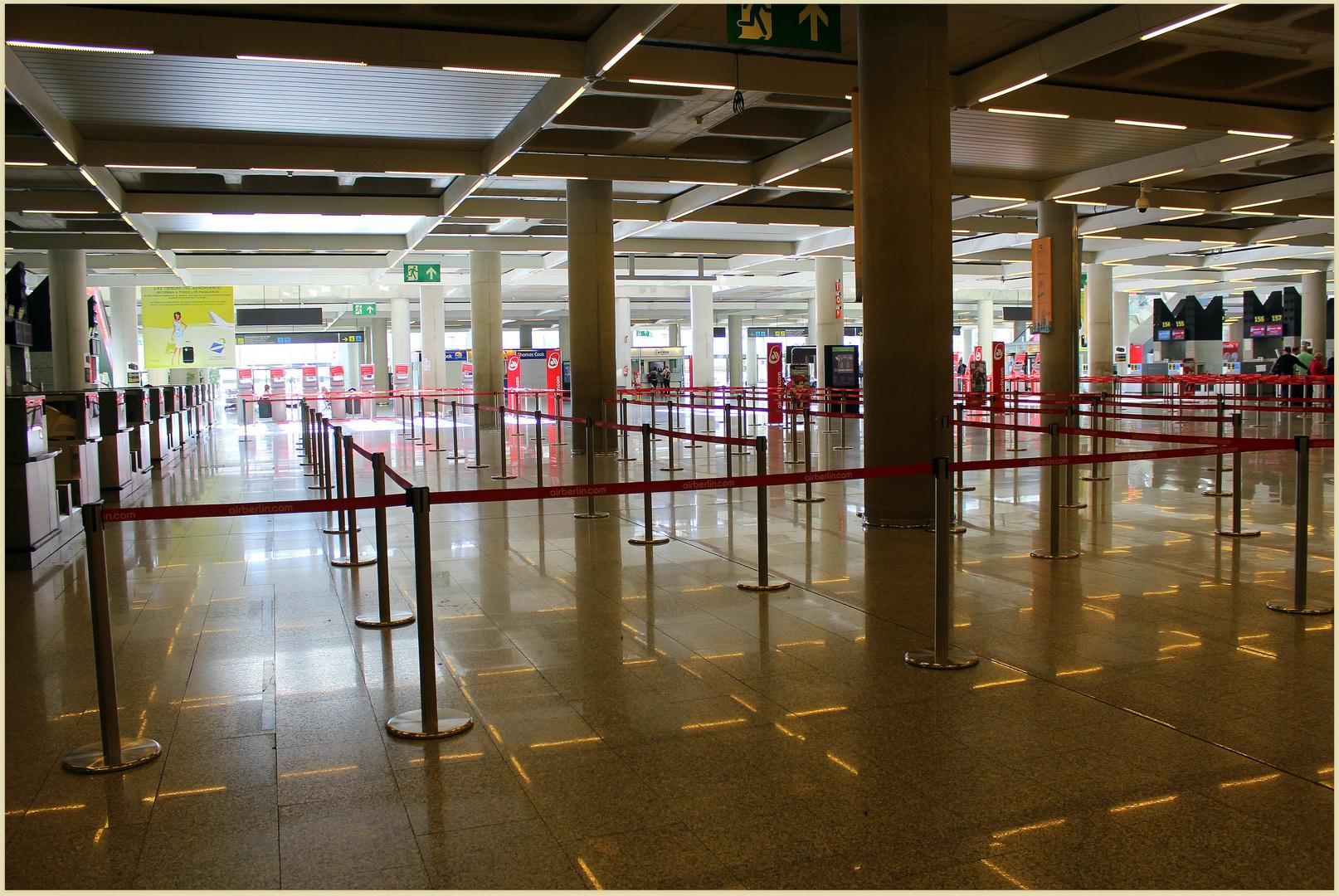 Flughafen Sant Joan PMI- mal anders als gewohnt