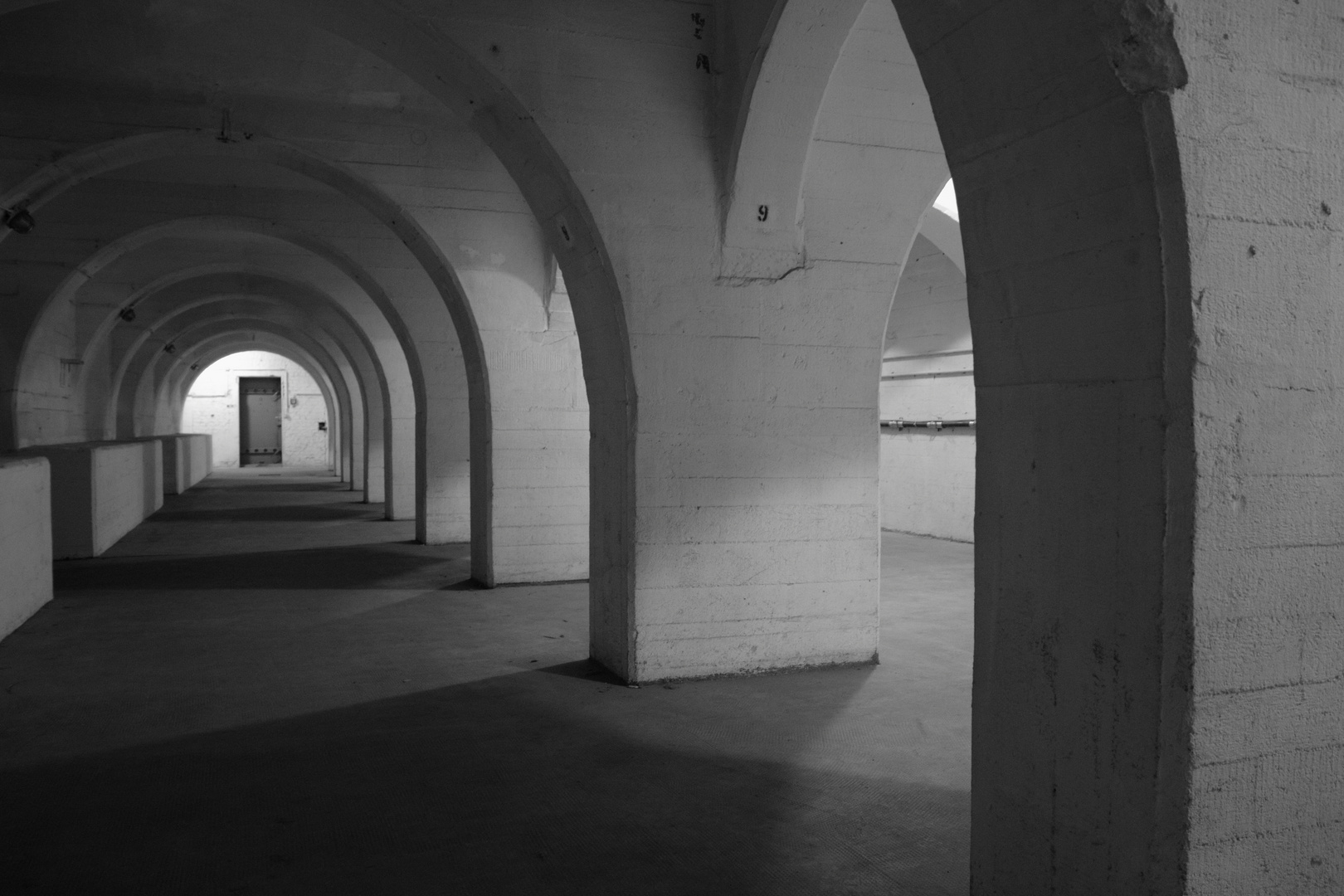 Flughafen Tempelhof Gewölbekeller