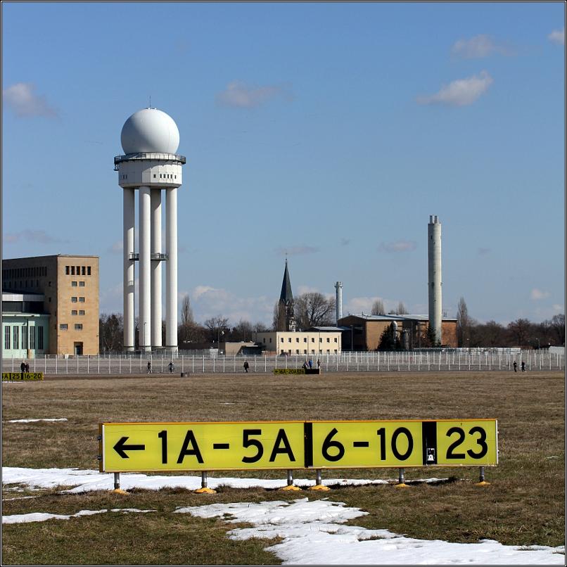 Flughafen Tempelhof - Radarturm
