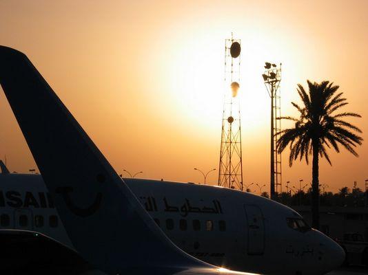 Flughafen Tunesien