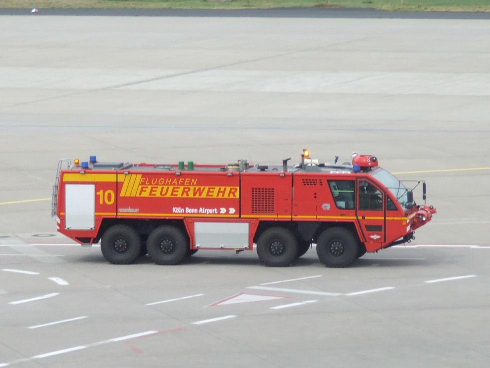 Flughafenfeuerwehr CGN 13.05.07