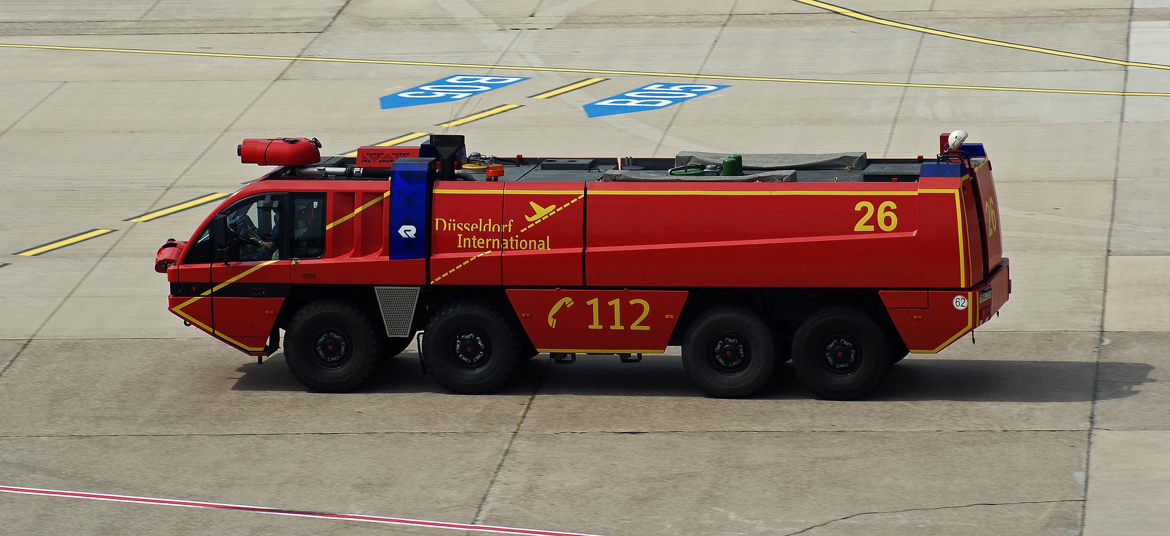 Flughafenfeuerwehr Düsseldorf