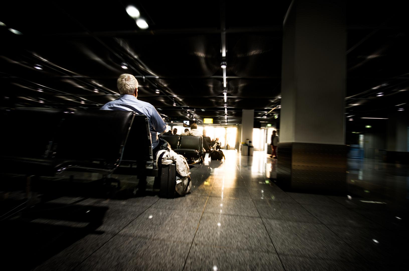 Flughafenstimmung