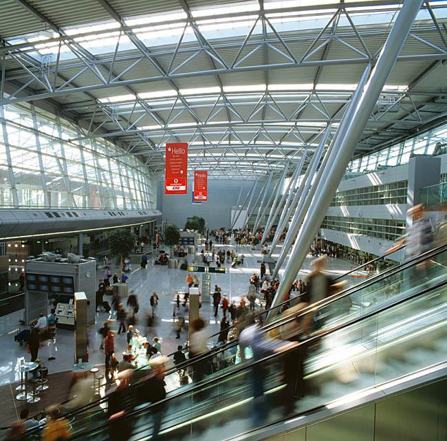 Flughafenterminal Düsseldorf