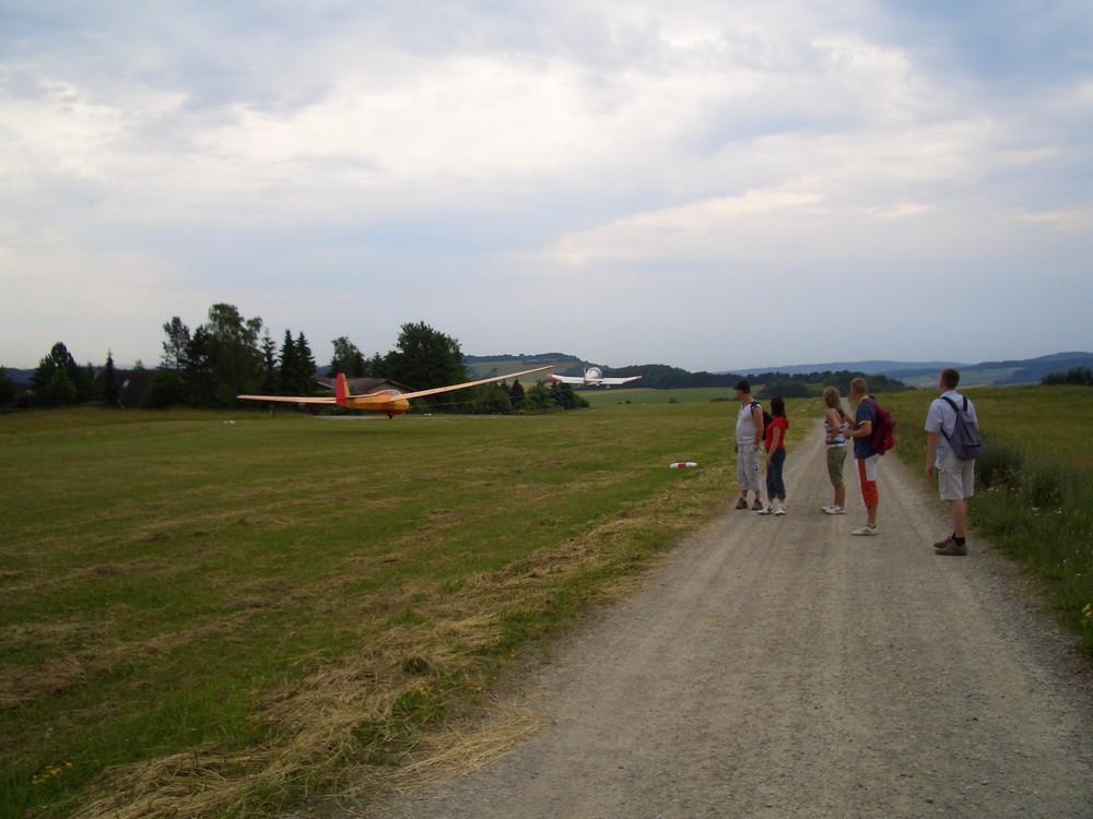 Flugversuche 2