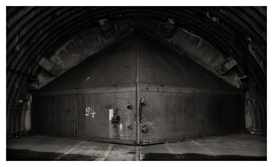 Flugzeug-Shelter
