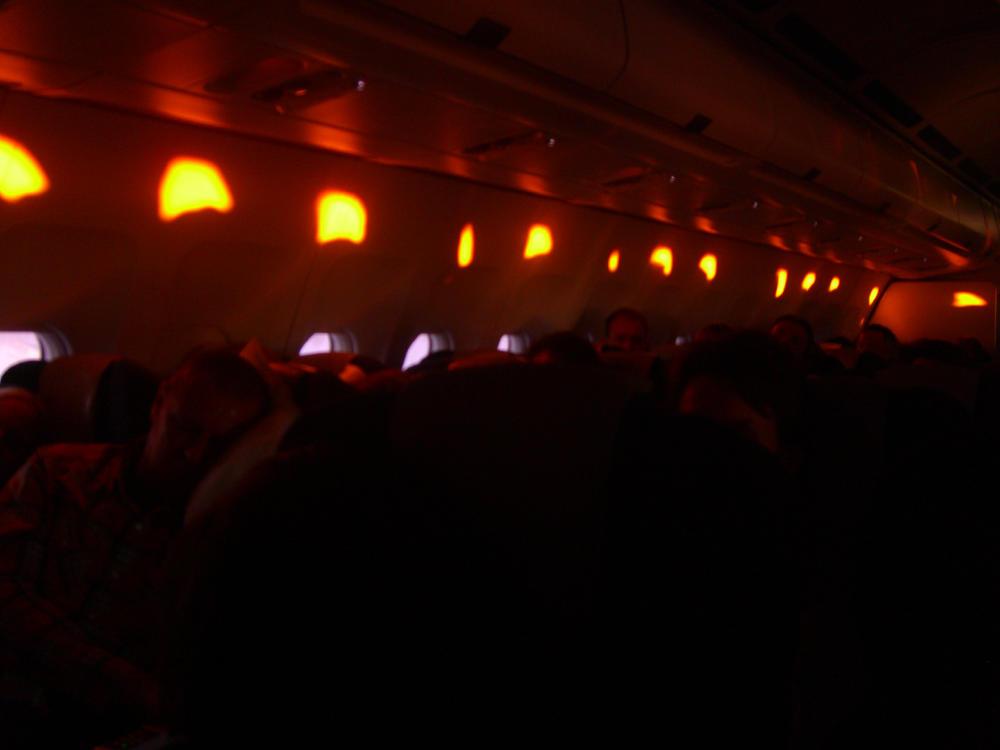 Flugzeugstimmung