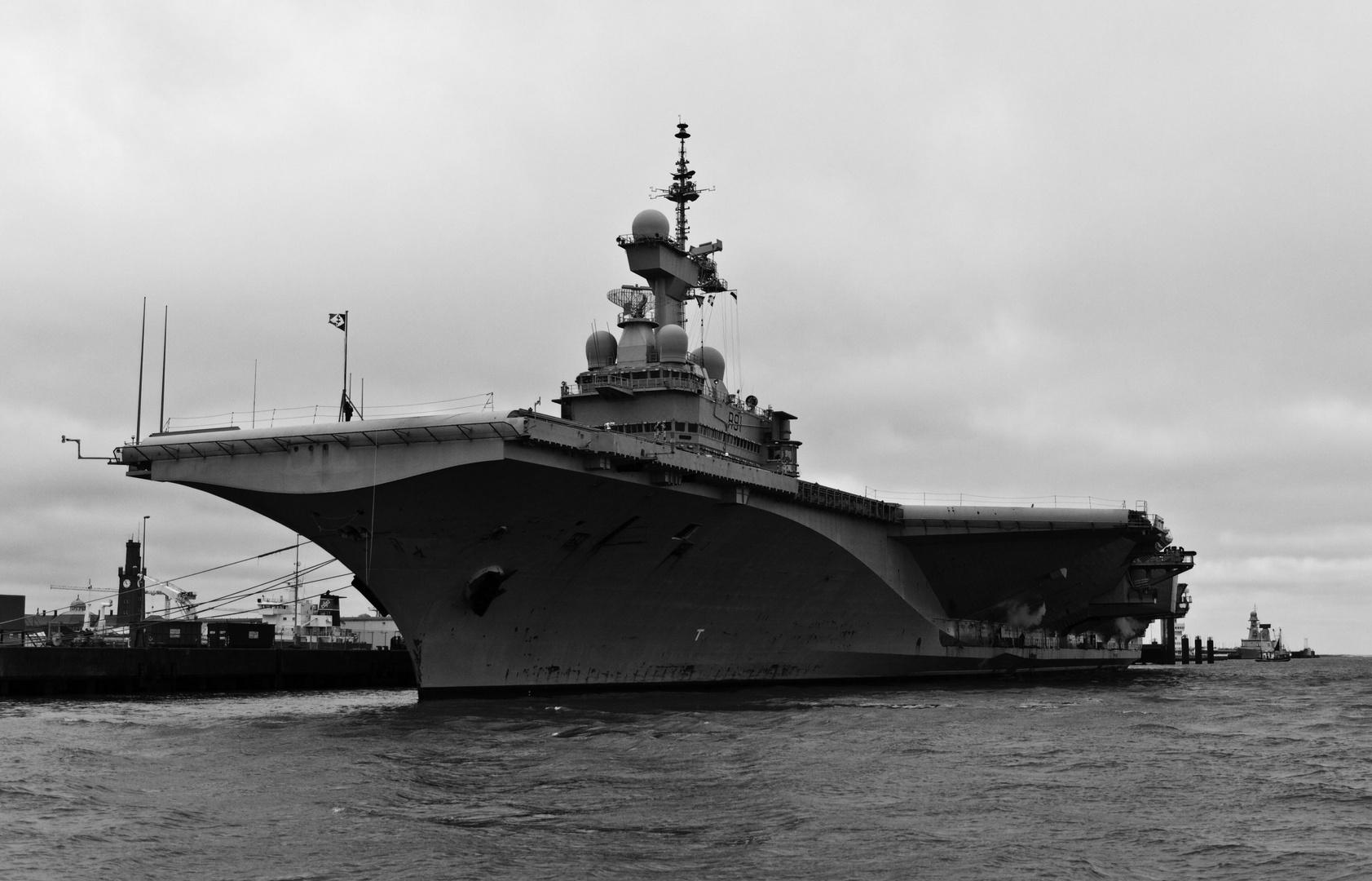 Flugzeugträger - Charles de Gaulle - Cuxhafen