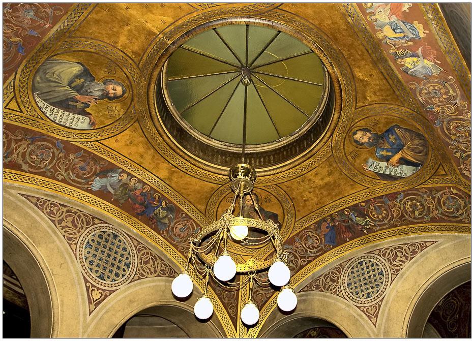 Flur der Griechisch Orthodoxen Kathedrale in Wien