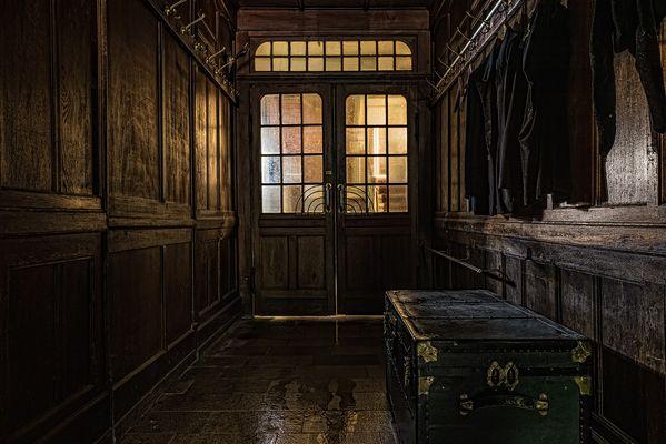 Flur des alten Hotels