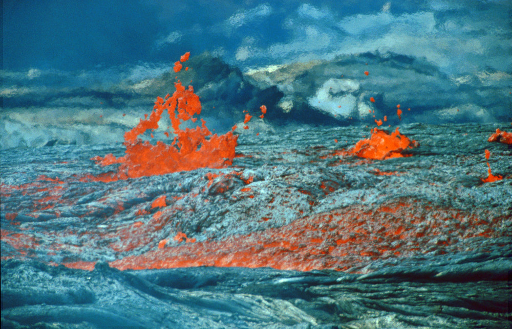 Fluss aus Feuer