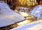 Fluss aus Gold