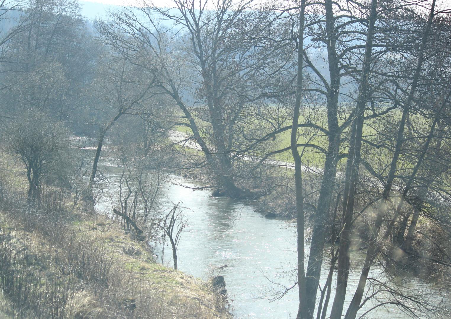 Fluß bei Gemünden
