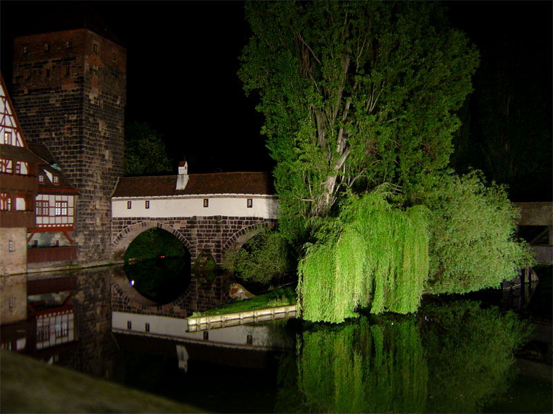 Fluss bei Nacht!