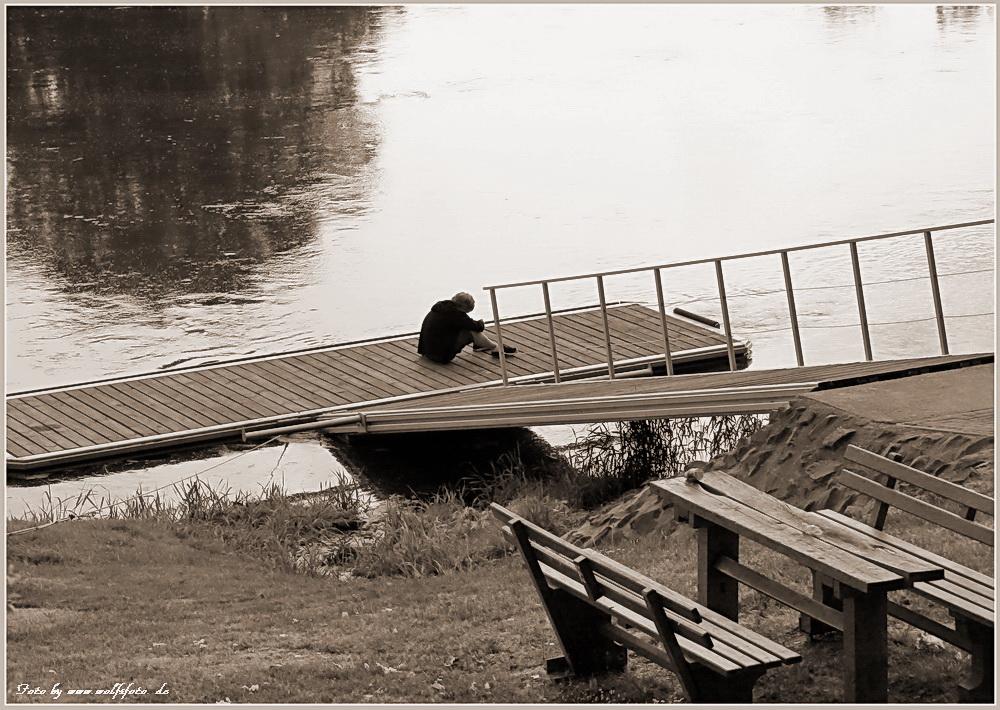 Fluss der Gedanken - Gedankenfluss